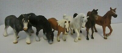 Schleich HORSE LOT of 6 - Germany Horses Figures