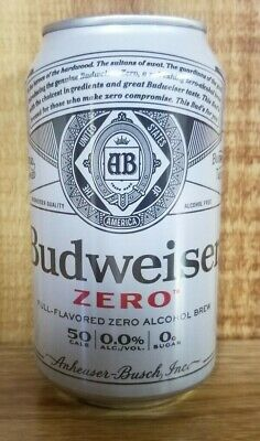 Budweiser Zero 12 oz beer can
