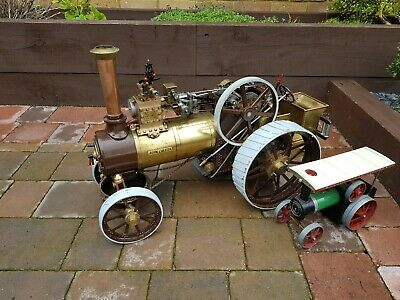Allchin live steam traction engine 1.5 inch scale model coal fired