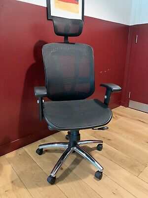 Ergonomic Executive High Back Mesh Office Chair With Headrest