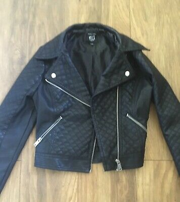 Gorgeous New Look 915 Plether Jacket Age 12-13