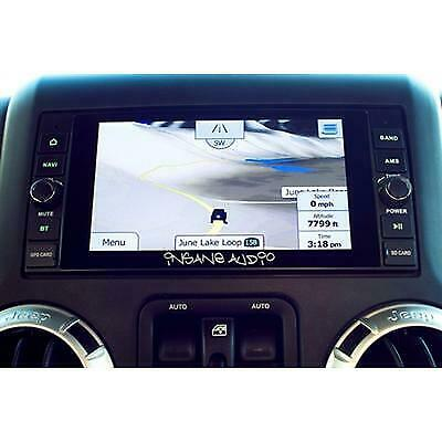 Insane Audio In-dash Navigation and Multimedia Entertainment System - JK2001