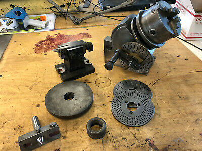 Brown and Sharpe high precision No.0 Indexing Dividing Head all matching numbers