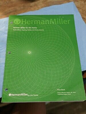 Herman Miller Price Book August 2000