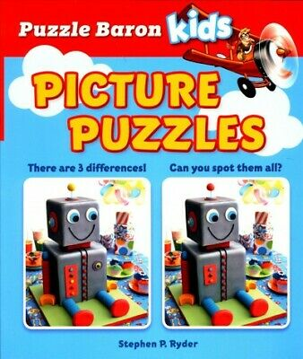Picture Puzzles, Paperback by Ryder, Stephen P., Brand New, Free shipping in ...