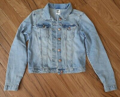 H&M brand new without tag Girls Blue Denim Jacket 11- 12 years 152 cm