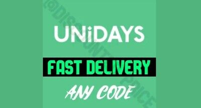 Unidays Discount Codes -  Instant Delivery - Money Off Codes - Not An Account!