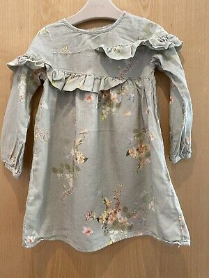Girls Next Floral Dress Age 3-4 Years