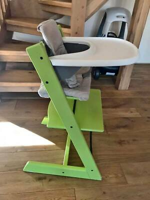 Tripp Trapp High chair with babyset- Tray- Cushions