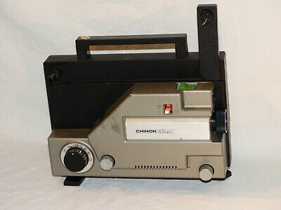 Vintage Chinon Whisper 727 8 MM Film Projector Tested