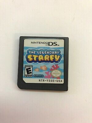 The Legendary Starfy (Nintendo DS 3DS, 2009) Tested Cart Only - Free Shipping