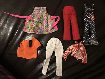 Pippa Doll Vintage Palitoy Outfits Trousers Top Tunic Dungarees Dawn Dolls