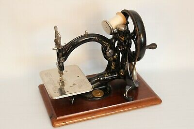 "Willcox & Gibbs ""Automatic"" Silent Sewing Machine"