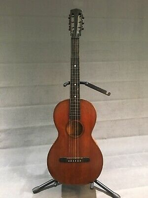 Vintage 1920s Martin Style Parlour Guitar. Rare Beauty Perfect For Jazz / Blues.