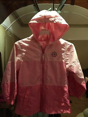 MOTHERCARE GIRLS LIGHTWEIGHT MAC COAT Wind Cheater AGE 5-6 Years