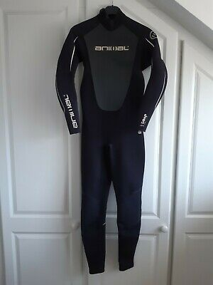 Animal Amp, Full Length Adult 3:2mm, Wetsuit, Medium Tall, good used condition.