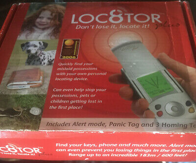 Loc8tor Plus Tracking Device for Pets/Children/ Drones 600ft range 4 Tags