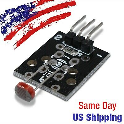 Photosensitive Photoresistor Light Detector Module Resistor Arduino PIC AVR USA!