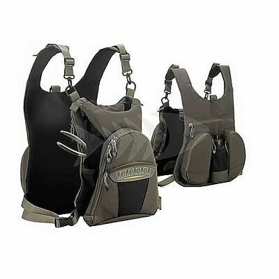 Gilet  Behr Back Chest Pack multitasche pesca-mosca-spinning