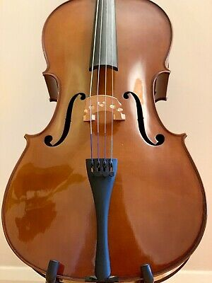Stentor Student II Cello ¾ with upgraded strings and soft case