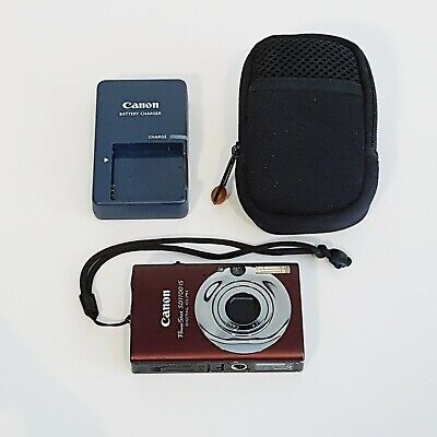Canon PowerShot SD1400 IS Digital ELPH Camera 8.0MP - Incl. Charger & Case