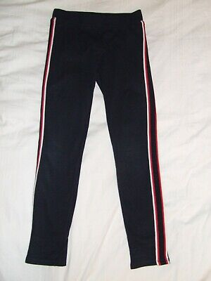Girls H&M navy jogging bottoms age 10-11 years