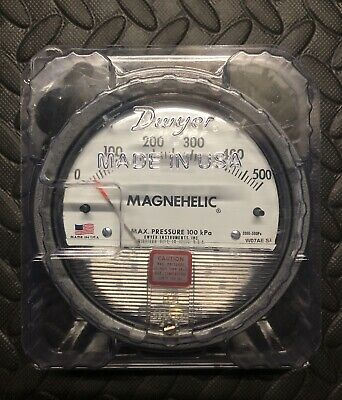 Dwyer Magnehelic Differential Pressure Gauge 0-500pa