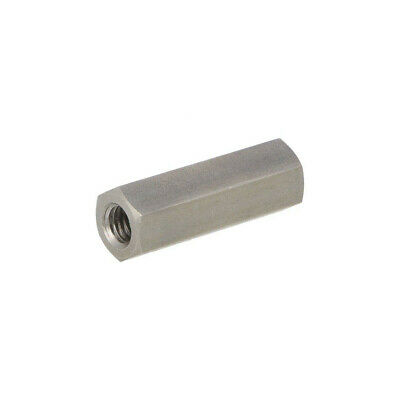 10X 1413X40 Screwed spacer sleeve Int.thread: M8 40mm hexagonal DREMEC