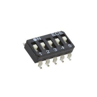 2X ESD105LTZ Switch: DIP-SWITCH Poles number: 5 OFF-ON 0.025A/24VDC Pos: 2 ECE