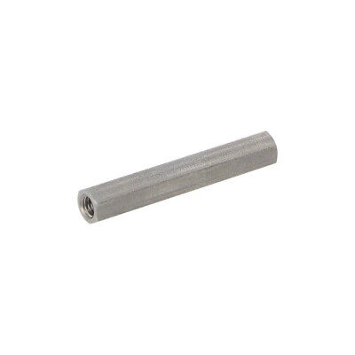 10X 148X50 Screwed spacer sleeve Int.thread: M5 50mm hexagonal DREMEC