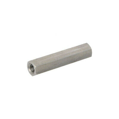 10X 1413X60 Screwed spacer sleeve Int.thread: M8 60mm hexagonal DREMEC