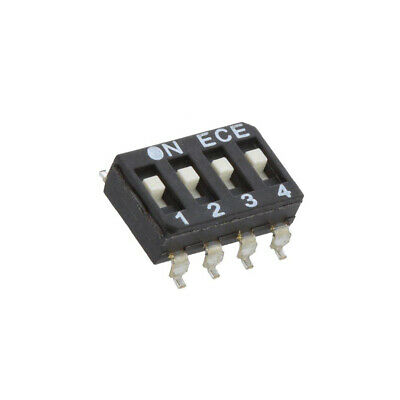 2X ESD104LTZ Switch: DIP-SWITCH Poles number: 4 OFF-ON 0.025A/24VDC Pos: 2 ECE