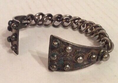 Hallstatt? Viking ?Norse? 800 Bc Decorated Silver Torque - Amazing . Rare