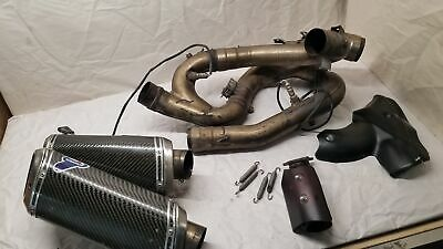 Ducati Streetfighter S Termignoni Exhaust System Carbon **Damaged**
