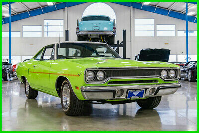 1970 Plymouth Road Runner Numbers Matching REAL V-Code 440 3x2bbl Automatic 1970 Plymouth Road Runner Matching Numbers 440/390hp 3x2bbl Six-Pack Automatic