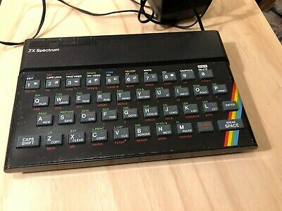 Sinclair ZX Spectrum + 48K UNTESTED With PSU Hard-wired