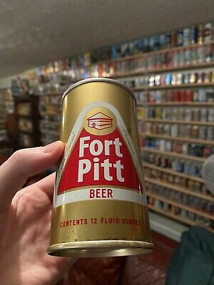 USBC 65-31 Fort Pitt Extra Special Steel Beer Bank and Pull Tab