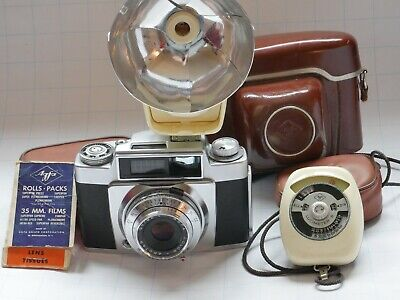 Agfa Silette with stuff
