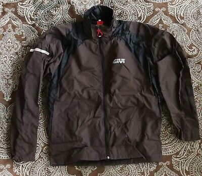 Givi NEW RJ09M Rain Jacket Brown & Black