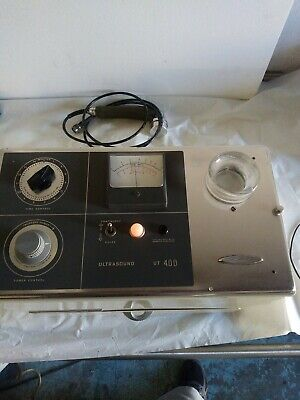 Vintage Burdick UT 400 Ultrasound therapy unit with power cord & wand