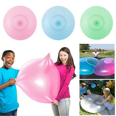 Water-filled Interactive Rubber Big Amazing Bubble Ball By BubbleWorld 40-70 CM