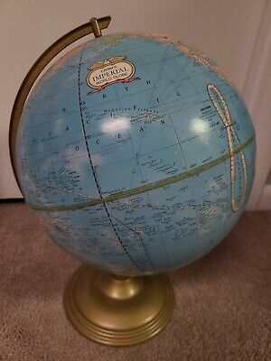 Vintage Cram's Imperial World Globe Very Nice Condition