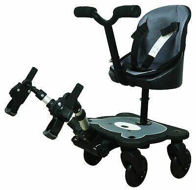 Englacha 2-in-1 Cozy Rider 4 Wheel Child Universal Stroller Seat Board NEW