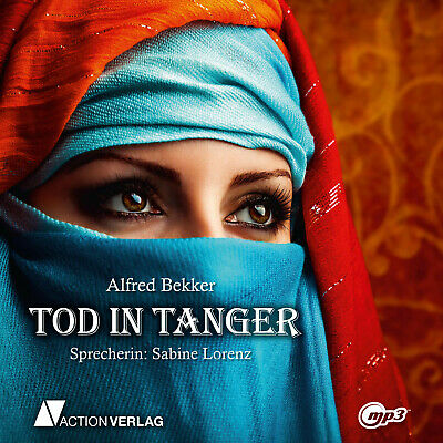 Hörbuch TOD IN TANGER   Spannung   mp3-CD