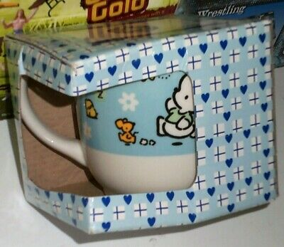 Vintage 1997 Sanrio POCHACCO ceramic mug cup new in box