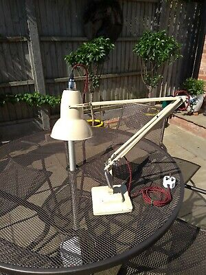 Herbert Terry Anglepoise 1227 1950/60s Lamp Rewired Good used Working Order