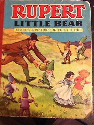 Rupert Little Bear Stories And Pictures In Full Colour Book