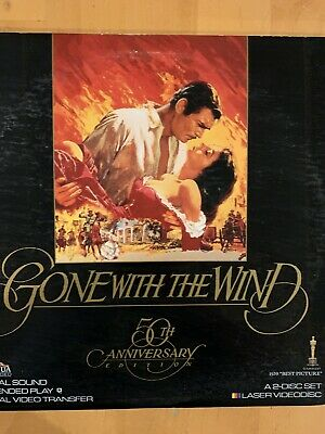Gone with the Wind 2-Disc Laserdisc NOT DVD PreOwned Buy 2 get 1 Free