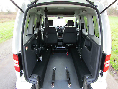 """Superb Volkswagen Vw Caddy Wheelchair Accessible Vehicle """"Wav"""" Disability Car"""