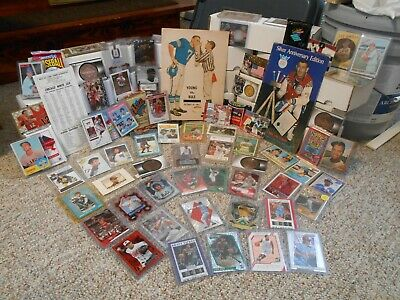 Huge Sport Card Collection , Autograph's , Game-Used Relics , Vintage , Programs